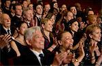 Clapping theater audience Stock Photo - Premium Royalty-Freenull, Code: 6113-07159357