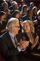 Clapping theater audience Stock Photo - Premium Royalty-Freenull, Code: 6113-07160093