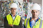 Serious workers in recycling center Stock Photo - Premium Royalty-Free, Artist: Cultura RM, Code: 6113-07160249