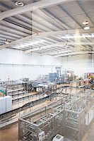 production - View of machinery in factory Stock Photo - Premium Royalty-Freenull, Code: 6113-07160275