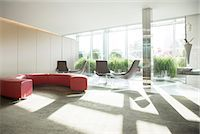 Empty lobby area in office Stock Photo - Premium Royalty-Freenull, Code: 6113-07160555