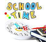 Back to school conceptual image of education & knowledge