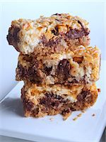 Seven layer bars Stock Photo - Premium Rights-Managednull, Code: 824-07194166