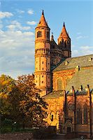 Worms Cathedral in Autumn, Worms, Rhineland-Palatinate, Germany Stock Photo - Premium Royalty-Free, Artist: Jochen Schlenker, Code: 600-07199352