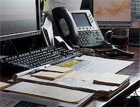 Organized Office Desk Stock Photo - Premium Royalty-Freenull, Code: 600-07199432