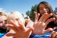 Kids at the Beach Stock Photo - Premium Rights-Managednull, Code: 700-07199586