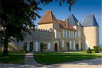 Chateau d'Yquem, Sauternes, France constructed in 15th Century with later additions Stock Photo - Premium Rights-Managed, Artist: Robert Harding Images, Code: 841-07201716