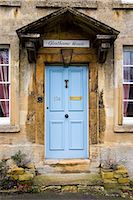 Exterior of a Cotswolds house called Glenthorne House, Burford, United Kingdom Stock Photo - Premium Rights-Managednull, Code: 841-07202076