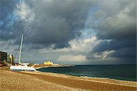 sailing boat storm - Rhodes City beach, Rhodes, Dodecanese, Aegean See, Greece, Europe Stock Photo - Premium Royalty-Freenull, Code: 600-07202692