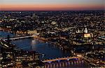 View from The Shard, London, England, United Kingdom, Europe