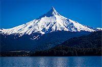 Puntiagudo Volcano, Lake Todos los Santos, Parque Nacional Vicente Perez Rosales, Patagonia, Chile Stock Photo - Premium Rights-Managednull, Code: 700-07202713