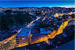 Overview of city at night, Valparaiso, Provincia de Valparaiso, Chile Stock Photo - Premium Rights-Managed, Artist: R. Ian Lloyd, Code: 700-07203974