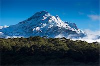 Scenic view of mountain at Petrohue Waterfalls, Parque Nacional Vicente Perez Rosales, Patagonia, Chile Stock Photo - Premium Rights-Managednull, Code: 700-07203980
