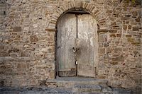 Medieval Door, Old City of Agropoli, Cilento, Salerno District, Campania, Italy Stock Photo - Premium Rights-Managednull, Code: 700-07204009