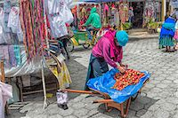south american woman - Street scene, Otavalo market, Imbabura Province, Ecuador, South America Stock Photo - Premium Rights-Managednull, Code: 841-07204387