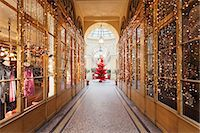 Christmas tree in Galerie Colbert, Paris, Ile de France, France, Europe Stock Photo - Premium Rights-Managednull, Code: 841-07204444