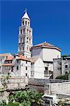 St. Dominus (Sveti Duje) Cathedral, Diocletian's Palace, UNESCO World Heritage Site, Split, Dalmatia, Croatia, Europe Stock Photo - Premium Rights-Managed, Artist: Robert Harding Images, Code: 841-07204677