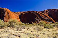Ayers Rock, Uluru, Red Centre, Australia Stock Photo - Premium Rights-Managed, Artist: Robert Harding Images, Code: 841-07205025