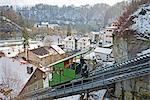 Funicular railway, Fribourg, Switzerland, Europe Stock Photo - Premium Rights-Managed, Artist: Robert Harding Images, Code: 841-07205337