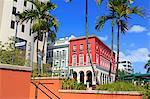 Paseo de La Princesa in Old San Juan, Puerto Rico, West Indies, Caribbean, Central America