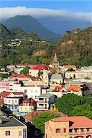 Downtown Roseau, Dominica, Windward Islands, West Indies, Caribbean, Central Am