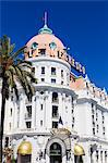 Hotel Negresco, Promenade des Anglais, Nice, Alpes Maritimes, Provence, Cote d'Azur, French Riviera, France, Europe Stock Photo - Premium Rights-Managed, Artist: Robert Harding Images, Code: 841-07205925