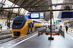 Intercity train in a platform at Central Station, Amsterdam, Netherlands, Europe Stock Photo - Premium Rights-Managed, Artist: Robert Harding Images, Code: 841-07205967