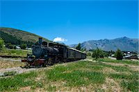 people in argentina - La Trochita, the Old Patagonian Express between Esquel and El Maiten in Chubut Province, Patagonia, Argentina, South America Stock Photo - Premium Rights-Managednull, Code: 841-07206094