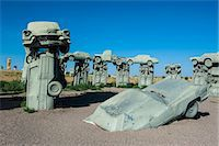 Carhenge, a replica of England's Stonehenge, made out of cars near Alliance, Nebraska, United States of America, North America Stock Photo - Premium Rights-Managed, Artist: Robert Harding Images, Code: 841-07206117