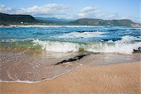 Waves crashing ashore at Nature Valley Beach, Indian Ocean, Crags, Garden Route, South Africa, Africa Stock Photo - Premium Rights-Managednull, Code: 841-07206336