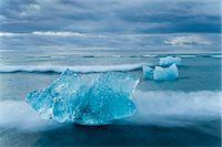 Jokulsarlon, South Iceland, Polar Regions Stock Photo - Premium Rights-Managednull, Code: 841-07206414
