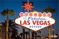 Las Vegas Sign at night, Nevada, United States of America, North America Stock Photo - Premium Rights-Managednull, Code: 841-07206456