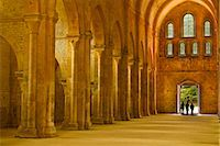 The nave of Fontenay Abbey, UNESCO World Heritage Site, Cote d'Or, Burgundy, France, Europe Stock Photo - Premium Rights-Managednull, Code: 841-07206539