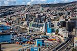 Overview of harbor and port, Valparaiso, Chile Stock Photo - Premium Rights-Managed, Artist: R. Ian Lloyd, Code: 700-07232359