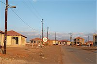 Low cost subsidised housing, Johannesburg, Gauteng, South Africa Stock Photo - Premium Royalty-Freenull, Code: 6110-07233614