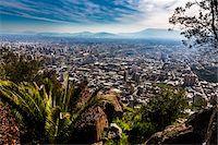 Overview of Santiago from Cerro San Cristobal, Bellavista District, Santiago, Chile Stock Photo - Premium Rights-Managed, Artist: R. Ian Lloyd, Code: 700-07237687