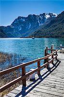 Close-up of Jetty and lake at Puerto Frias, Nahuel Huapi National Park (Parque Nacional Nahuel Huapi), Argentina Stock Photo - Premium Rights-Managednull, Code: 700-07237897