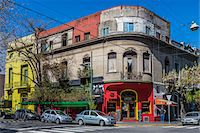 Buildings and street scene, Palermo, Buenos Aires, Argentina Stock Photo - Premium Rights-Managednull, Code: 700-07237961