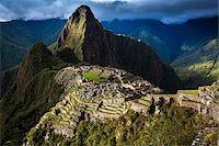 Scenic overview of Machu Picchu, Peru Stock Photo - Premium Rights-Managednull, Code: 700-07237981