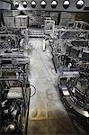 Worker and machinery in a brewery Stock Photo - Premium Royalty-Free, Artist: Blend Images, Code: 649-07238729