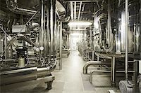Machinery in a brewery Stock Photo - Premium Royalty-Freenull, Code: 649-07238734