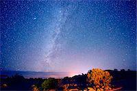 sky stars - Stars in night sky, Moab, Utah, USA Stock Photo - Premium Royalty-Freenull, Code: 614-07239924