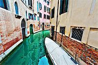 The Narrow Canal- the Street in Venice Stock Photo - Royalty-Freenull, Code: 400-07248428