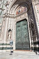 An image of the door of the Cathedral in Florence Italy Stock Photo - Royalty-Freenull, Code: 400-07255282