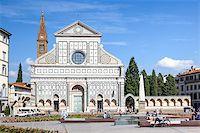An image of Santa Maria Novella in Florence Italy Stock Photo - Royalty-Freenull, Code: 400-07255308