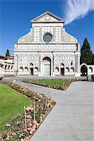 An image of Santa Maria Novella in Florence Italy Stock Photo - Royalty-Freenull, Code: 400-07255309