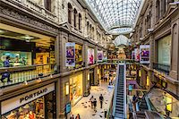shopping mall - Overview of Galerias Pacifico shopping centre, Buenos Aires, Argentina Stock Photo - Premium Rights-Managednull, Code: 700-07279051