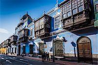peru and culture - Osambela House, Conde de Superunda Street, Lima, Peru Stock Photo - Premium Rights-Managednull, Code: 700-07279066