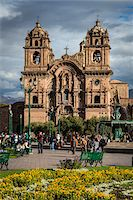 peru and culture - Church of the Society of Jesus, Plaza de Armas, Cusco, Peru Stock Photo - Premium Rights-Managednull, Code: 700-07279082