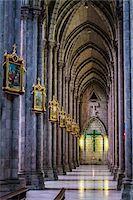 Interior of Basilica del Voto Nacional, Quito, Ecuador Stock Photo - Premium Rights-Managednull, Code: 700-07279291